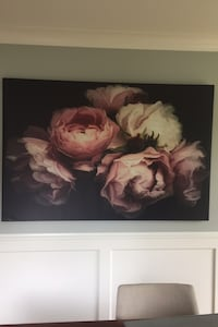 Large canvas floral print Langley, V1M 0C8