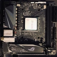 Mini Itx Asus x470-I motherboard New York, 10452