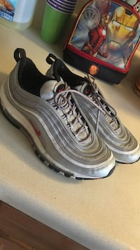 Nike air max 97 OG QS silver   Size 9 225 km