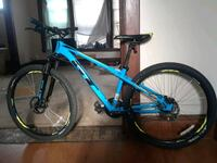 blue and black hardtail mountain bike Grand Rapids, 49507