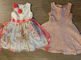 Lot of 5 beautiful spring dresses size 5/6