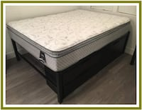 9 Inch Queen Pillowtop Mattress Set Hillsboro