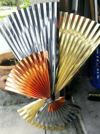 Beautiful metal fan wall deco Lehigh Acres, 33974
