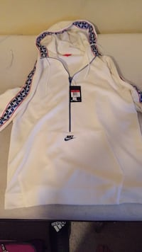 White and blue nike hoodie  Manchester, 37355