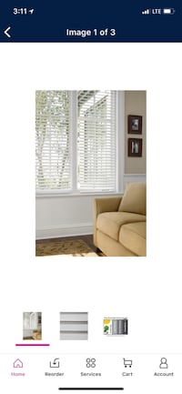 """NEW IN BOX! Better Homes and Gardens 2"""" Faux Wood Blinds (two for $70) Middlesex, 08846"""