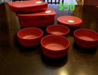 red and white plastic containers National City, 91950