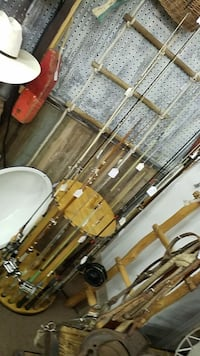 Selection of Fishing Reels and Rods