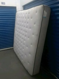 King size Posturepedic mattress and box springs  49 km