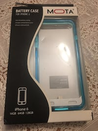 Mota Battery case for iPhone 6