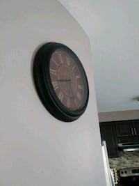 Stylish metal clock!!! Ajax, L1Z 1J8