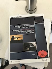 Canadian fire arms safety book Oakville, L6L 0R9