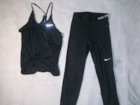 Workout clothes size xs