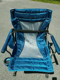 BIG MANS FOLDING SPORTS/BEACH /CAMP CHAIR