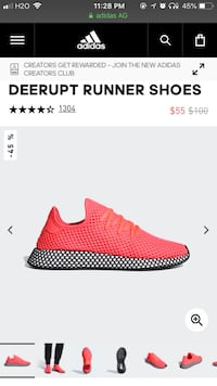 DEERUPT RUNNER SHOES size 9.5 Men Burke, 22015