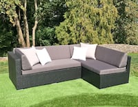 2pc Patio Furniture Sectional with Chaise Lounge - BRAND NEW Vancouver