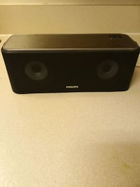 black and gray portable speaker 1161 mi