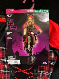 Edgy red hood girls costume  Rohnert Park, 94928