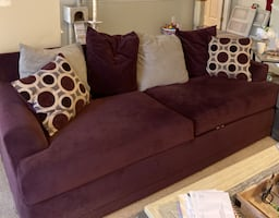Sofa & Love Seat Set (White Marsh)