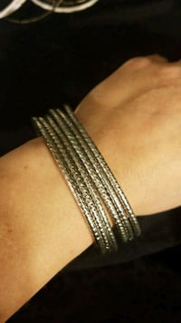 Silver stacking bracelets  Falls Church, 22042