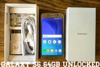 Galaxy S6 (64GB) UNLOCKED (Like-New) Gold (Read ad Arlington