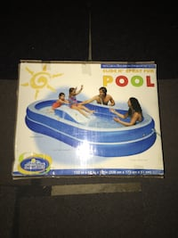 blue and white inflatable pool box Frederick, 21703