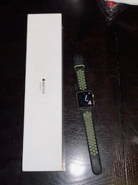 APPLE WATCH SERIES 3 42mm GPS + CELLULAR Gold with Nike Watch band still under Apple warranty  Like new condition with charger. 42mm ready to use no iCloud lock or activation lock No trades no low balling offers with box and charger  Winder, 30680