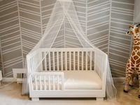 Babyletto Modo 3-in-1 convertible crib with toddler bed conversion kit Silver Spring, 20901