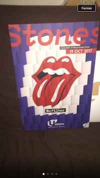 Affiche collector Rolling Stones