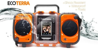 ECOXGEAR Rugged and Waterproof Stereo Boombox (Great Condition)
