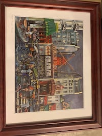 Moulin Rouge print (frame included)