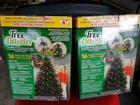Tree dazzler Christmas  lights Laval, H7M 4X2