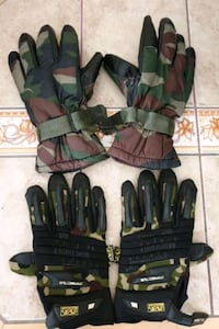YDS MILITARY cold climate gloves  2si 250.