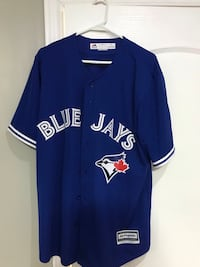 Blue jays blue away jersey only worn once in perfect condition so let's give it a home Oakville