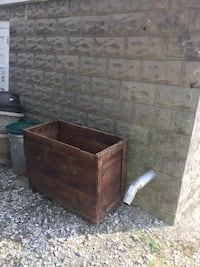 Very large outdoor wood storage box on wheels- used for firewood  Gambrills, 21054