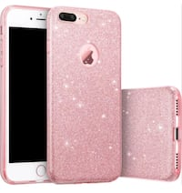 iPhone 6/7/8 plus pink glitter case Duncanville, 75137