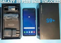 Galaxy S9 Plus (64GB) Factory-UNLOCKED (Like-New) Blue Arlington