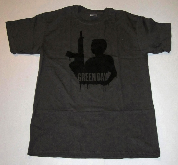 GREEN DAY SHADOW T-SHIRT FROM 2006, PUNK ROCK