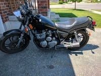 black and gray cruiser motorcycle Kitchener, N2E