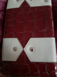 purse Miche burgundy and grey  shell Coquitlam, V3K 6R6