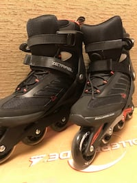 Rollerblade Zetrablade model. Used once. Size 9 US New York, 10016
