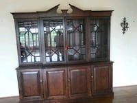 Pine china cabinet Capitol Heights, 20743