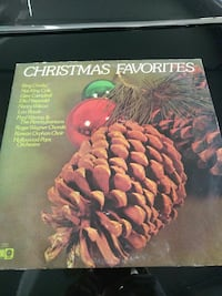 Christmas Favorites pine cone vinyl cover Las Cruces, 88007