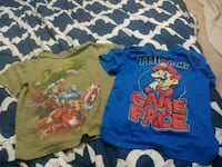 toddler's three assorted shirts Red Deer, T4N 6C1