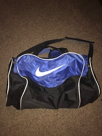 Purple and black nike sports Duffle Bag Summerville, 29483