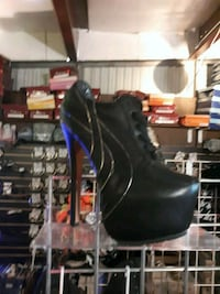 479b7c746f28 Used blue suede heel boots for sale in Jacksonville Beach - letgo
