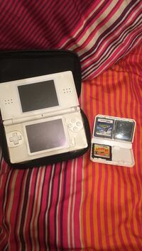 White NintendoDS with three game London, N6G 5P2