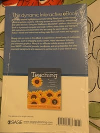 introduction to teaching, 3rd edition Bakersfield, 93304