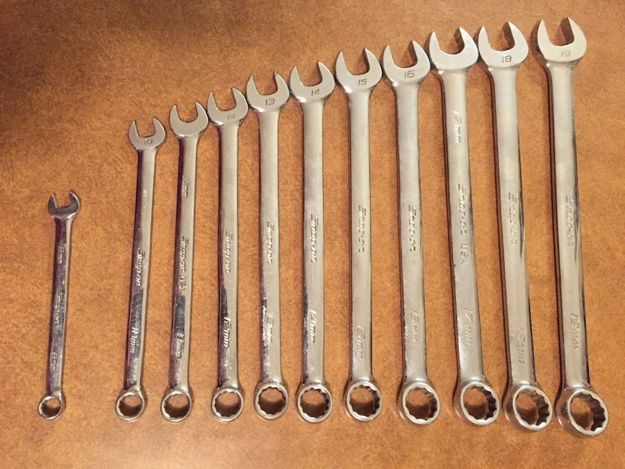 Photo Snap-on Wrench Set