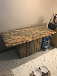 Marble 10x10 table