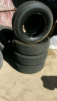 Almost New set of tires 225-70-16 Dallas, 75217